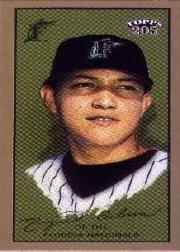 2003 Topps 205 Sovereign Green #246 Miguel Cabrera