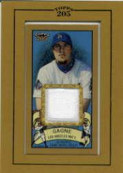 2003 Topps 205 Relics #EG Eric Gagne Jsy G1