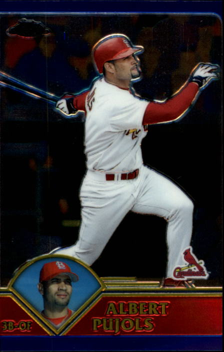 2003 Topps Chrome #35 Albert Pujols