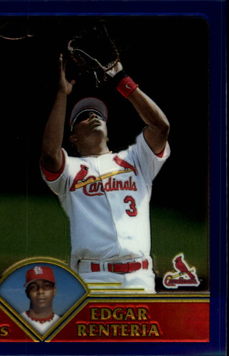 2003 Topps Chrome #50 Edgar Renteria