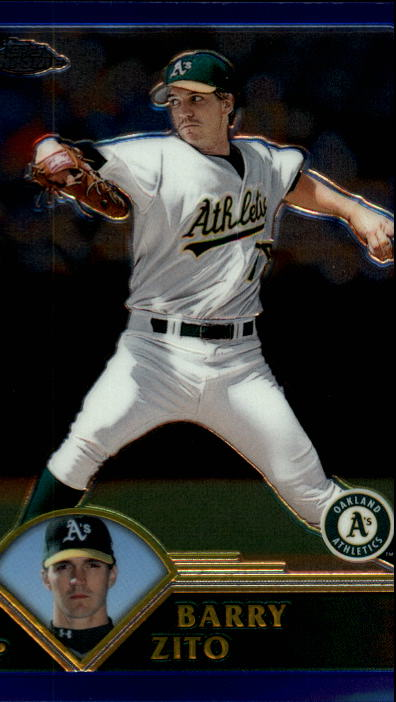 2003 Topps Chrome #75 Barry Zito