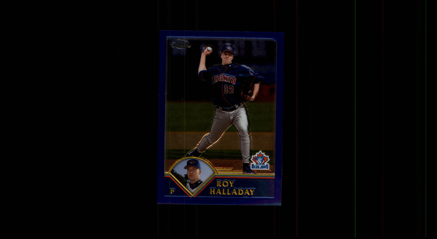 2003 Topps Chrome #115 Roy Halladay