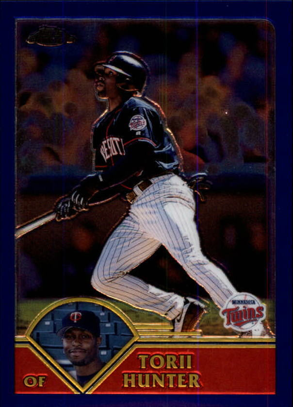 2003 Topps Chrome #269 Torii Hunter