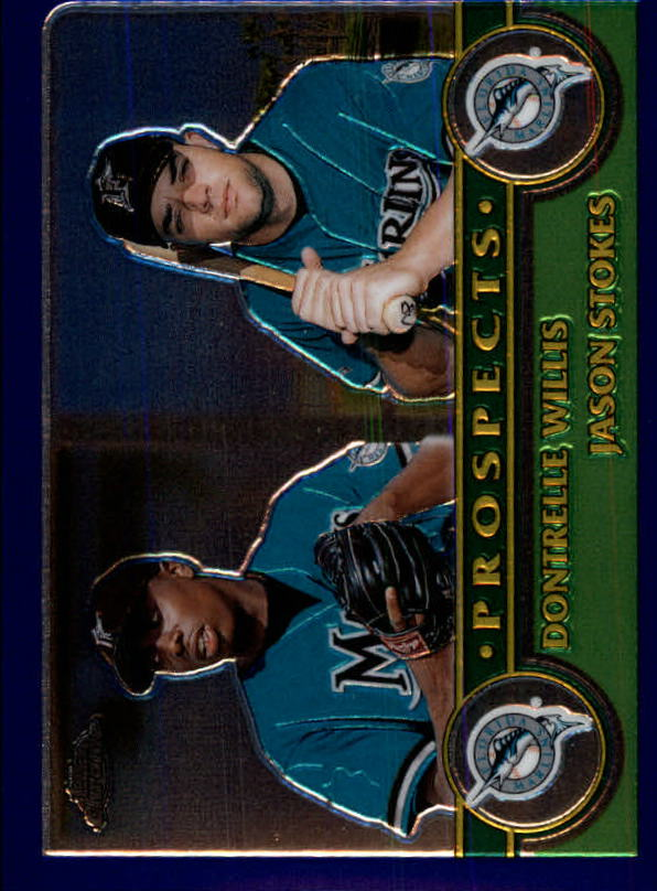 2003 Topps Chrome #433 D.Willis/J.Stokes