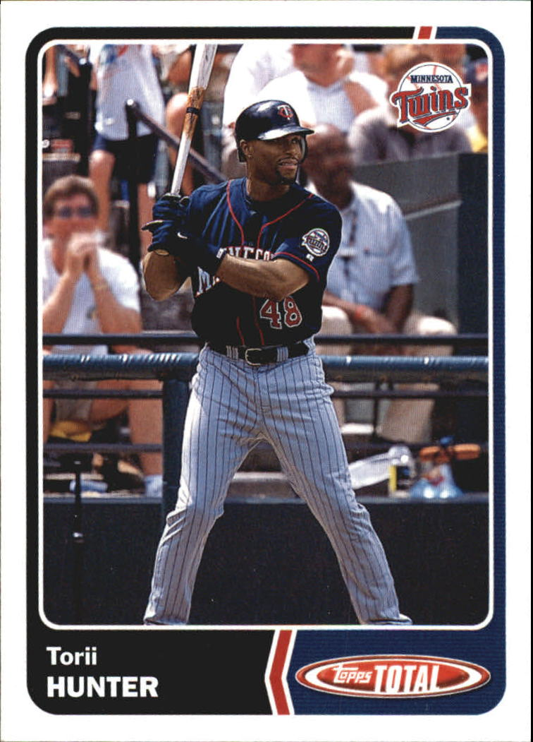 2003 Topps Total Team Checklists #17 Torii Hunter