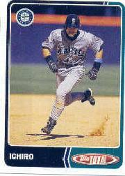 2003 Topps Total Team Checklists #26 Ichiro Suzuki