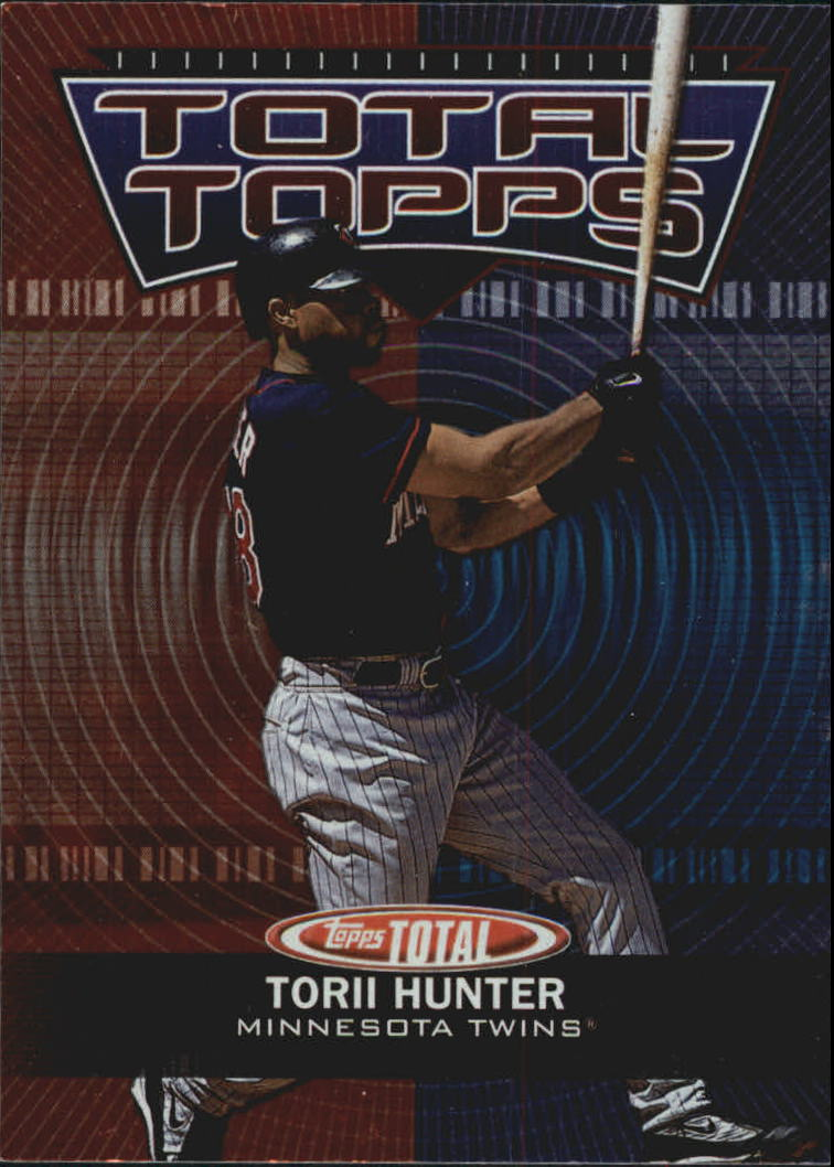 2003 Topps Total Topps #TT17 Torii Hunter