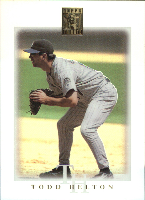 2003 Topps Tribute Contemporary #19 Todd Helton
