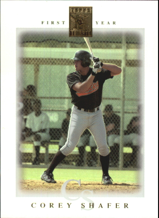 2003 Topps Tribute Contemporary #91 Corey Shafer FY RC