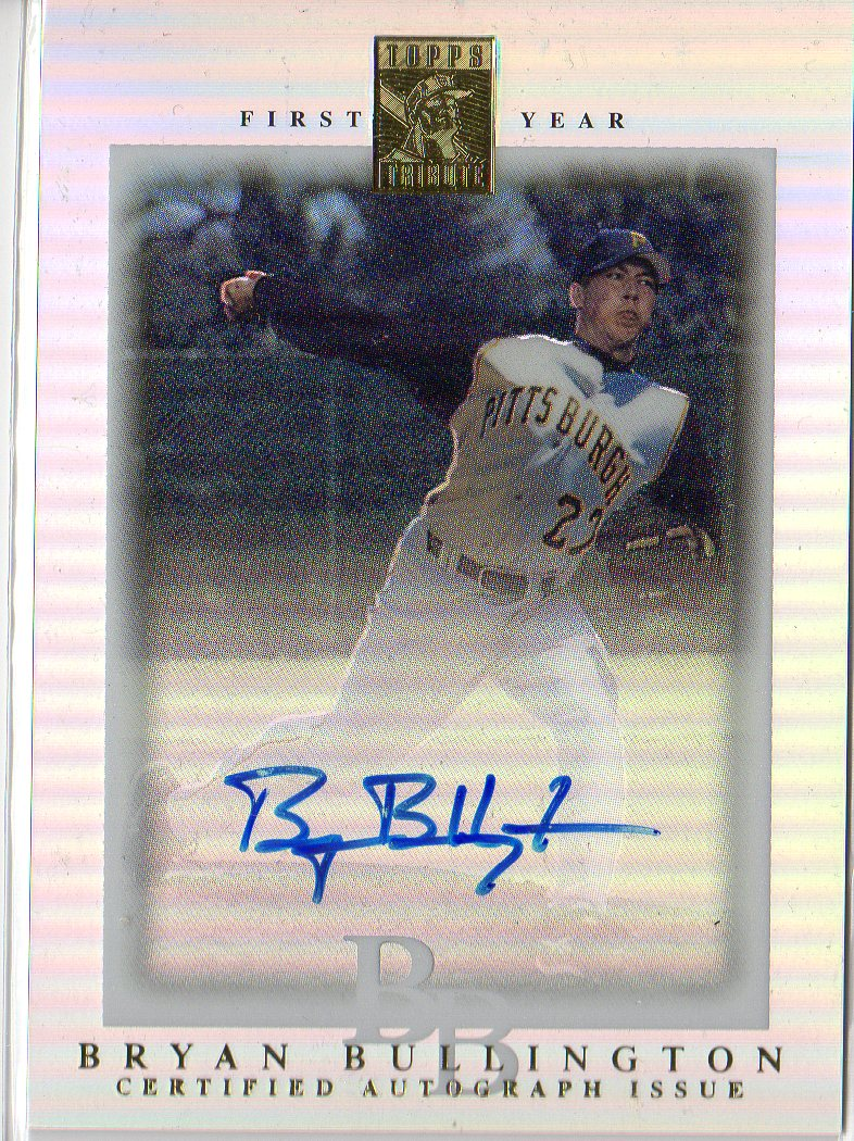 2003 Topps Tribute Contemporary #102 Bryan Bullington FY AU RC