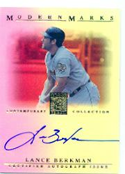 2003 Topps Tribute Contemporary Modern Marks Autographs #LB Lance Berkman
