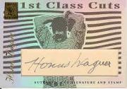 2003 Topps Tribute Perennial All-Star 1st Class Cut Relics #HW Honus Wagner