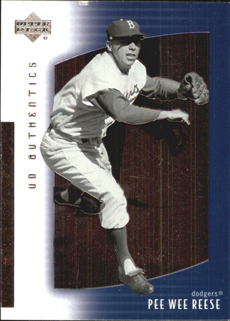 2003 UD Authentics #1 Pee Wee Reese