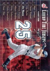 2003 Upper Deck Lineup Time Jerseys #JT Jim Thome
