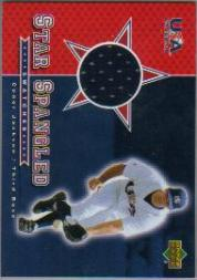 2003 Upper Deck Star-Spangled Swatches #CJ Conor Jackson Pants R
