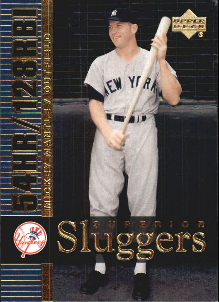2003 Upper Deck Superior Sluggers #S13 Mickey Mantle