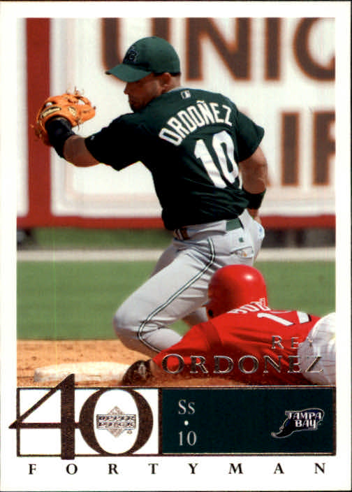 2003 Upper Deck 40-Man #87 Rey Ordonez