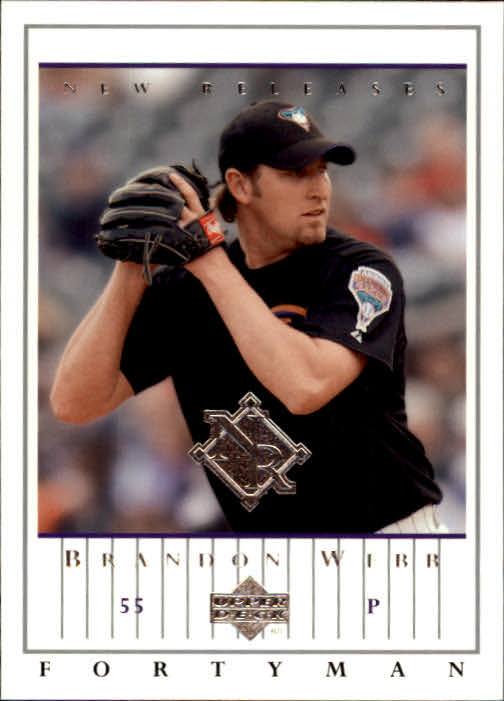 2003 Upper Deck 40-Man #923 Brandon Webb NR RC