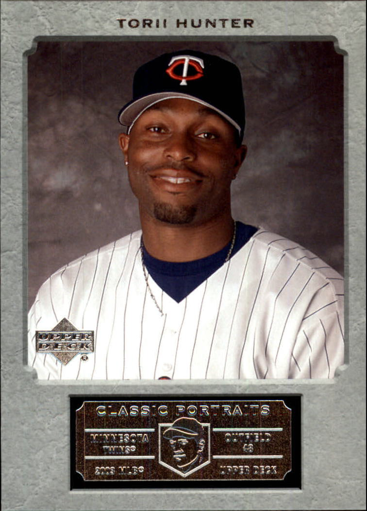 2003 Upper Deck Classic Portraits #22 Torii Hunter