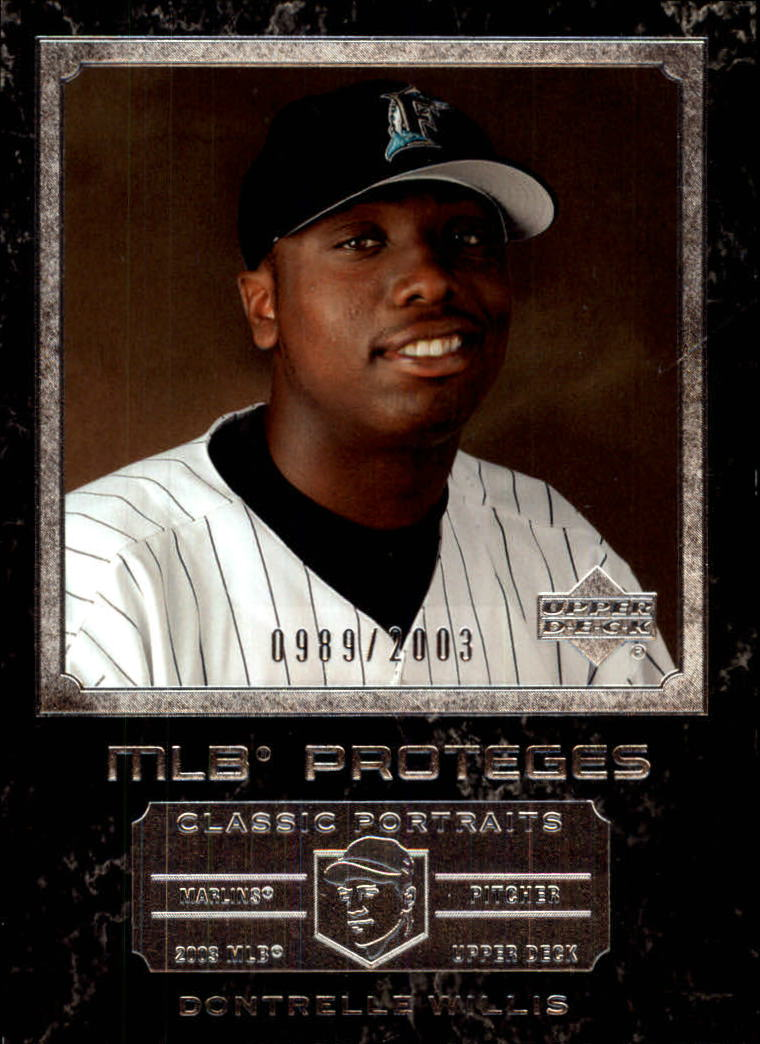 2003 Upper Deck Classic Portraits #163 Dontrelle Willis MP