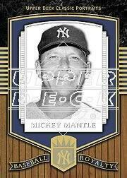 2003 Upper Deck Classic Portraits #191 Mickey Mantle BBR