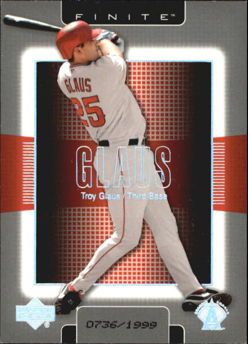 2003 Upper Deck Finite #4 Troy Glaus