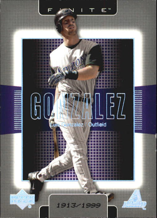 2003 Upper Deck Finite #5 Luis Gonzalez