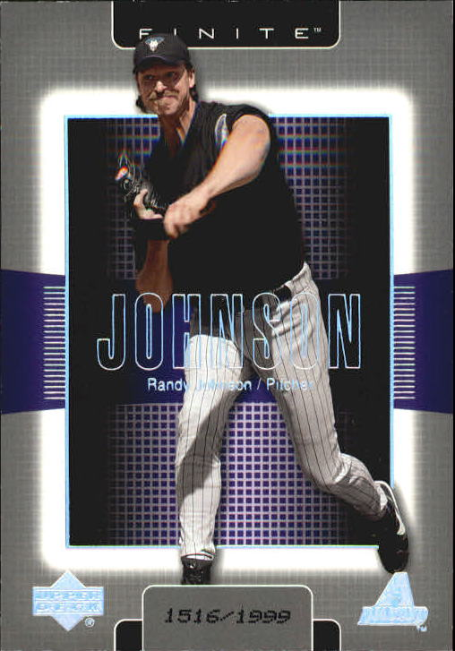 2003 Upper Deck Finite #6 Randy Johnson
