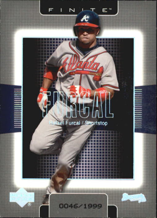 2003 Upper Deck Finite #10 Rafael Furcal