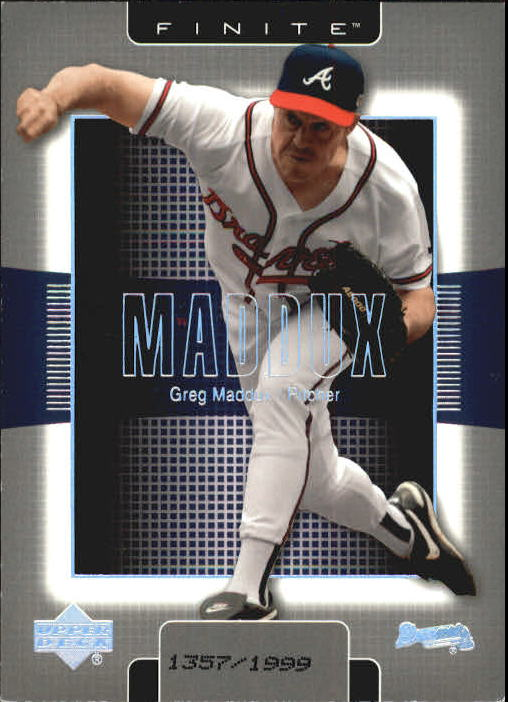 2003 Upper Deck Finite #11 Greg Maddux
