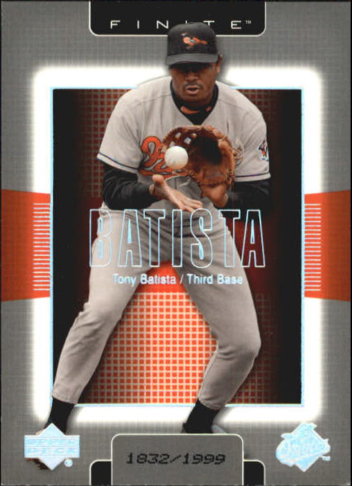 2003 Upper Deck Finite #13 Tony Batista