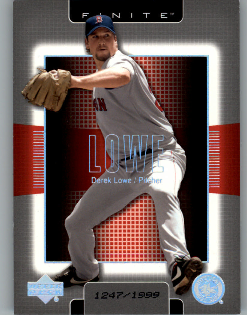 2003 Upper Deck Finite #16 Derek Lowe