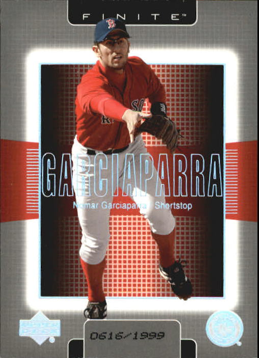 2003 Upper Deck Finite #17 Nomar Garciaparra