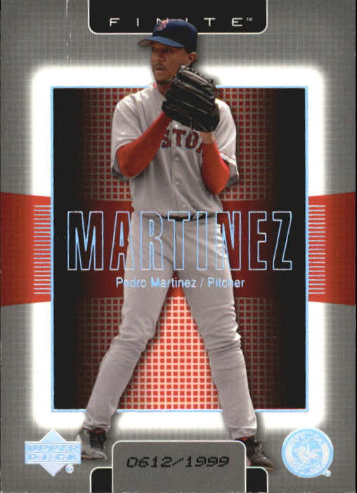 2003 Upper Deck Finite #18 Pedro Martinez