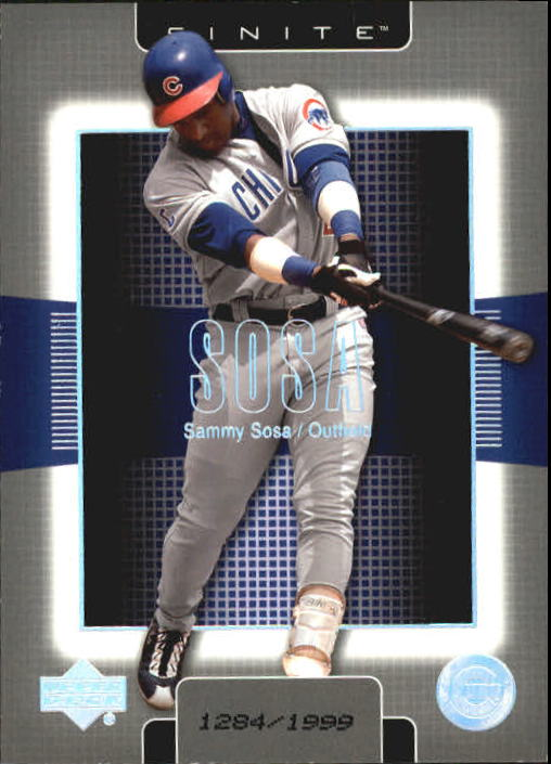 2003 Upper Deck Finite #23 Sammy Sosa