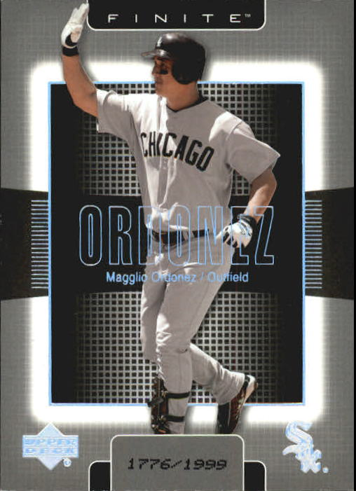 2003 Upper Deck Finite #25 Magglio Ordonez