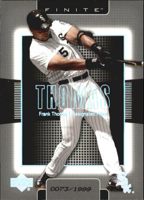 2003 Upper Deck Finite #26 Frank Thomas