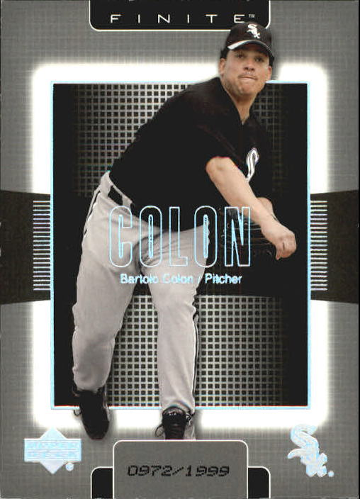 2003 Upper Deck Finite #28 Bartolo Colon