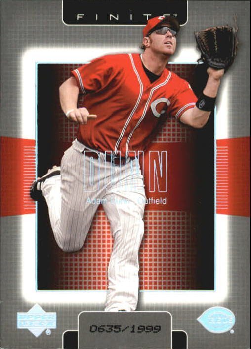2003 Upper Deck Finite #29 Adam Dunn
