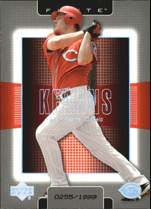 2003 Upper Deck Finite #30 Austin Kearns