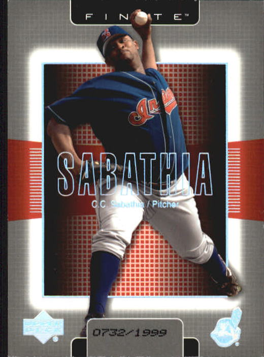 2003 Upper Deck Finite #34 C.C. Sabathia