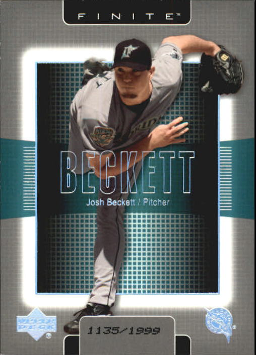 2003 Upper Deck Finite #41 Josh Beckett