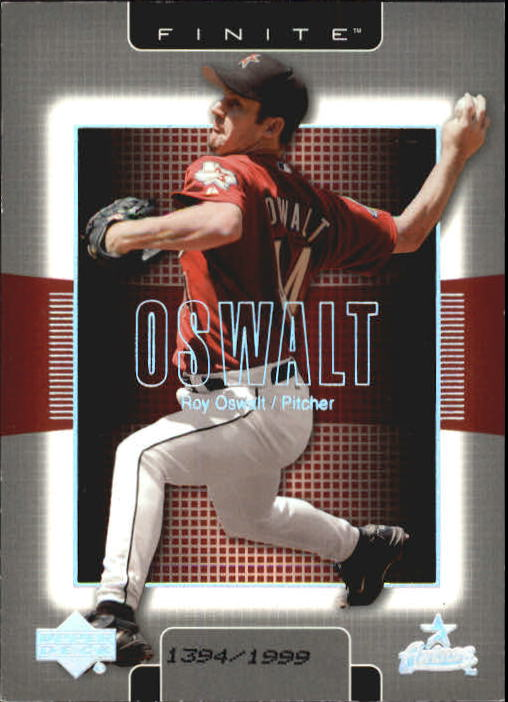 2003 Upper Deck Finite #42 Roy Oswalt