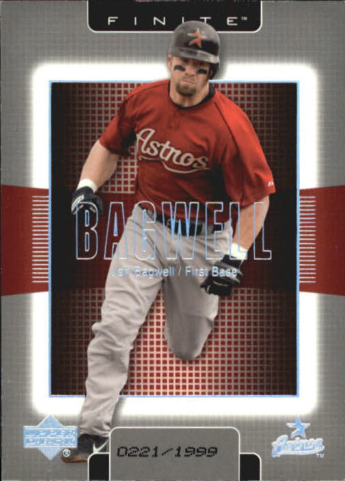 2003 Upper Deck Finite #44 Jeff Bagwell