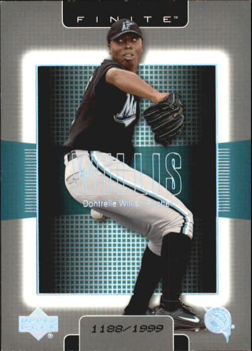 2003 Upper Deck Finite #45 Dontrelle Willis