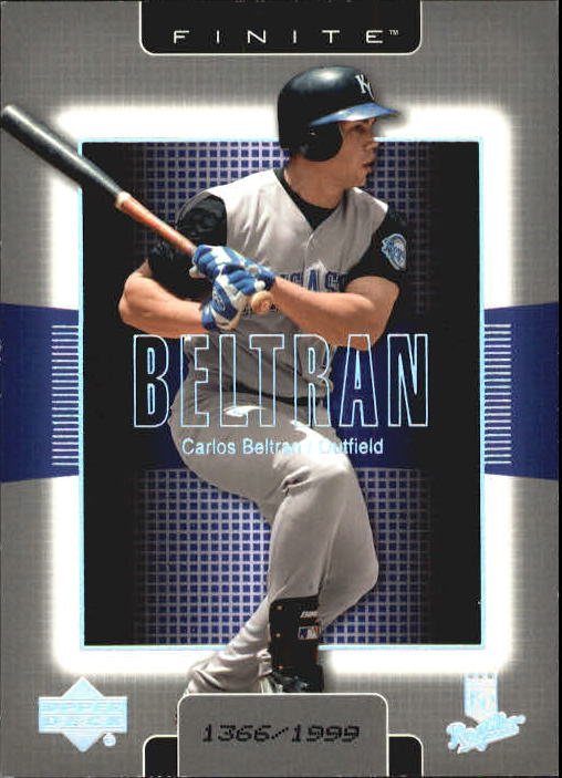 2003 Upper Deck Finite #46 Carlos Beltran