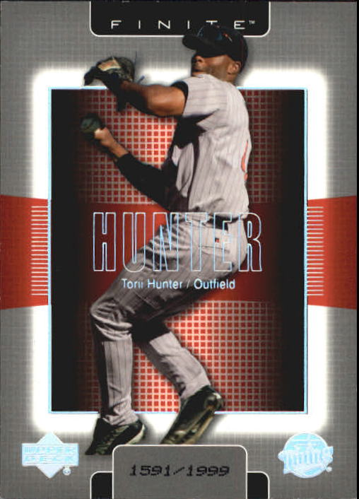 2003 Upper Deck Finite #54 Torii Hunter