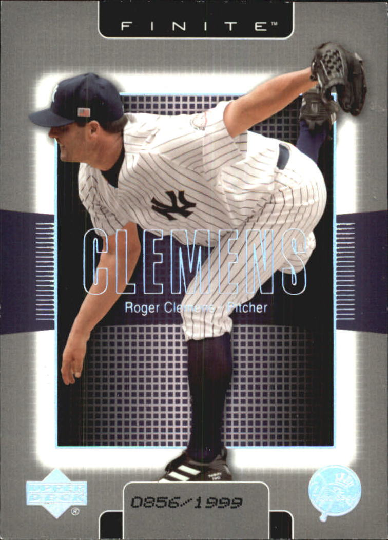 2003 Upper Deck Finite #66 Roger Clemens