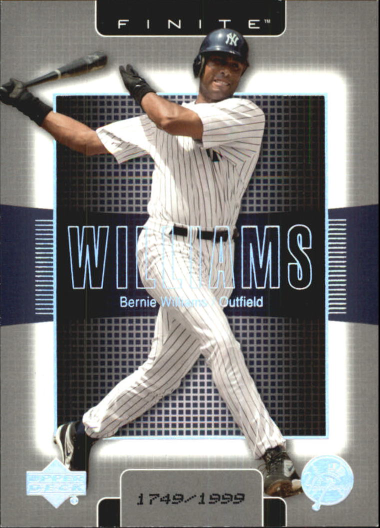 2003 Upper Deck Finite #68 Bernie Williams