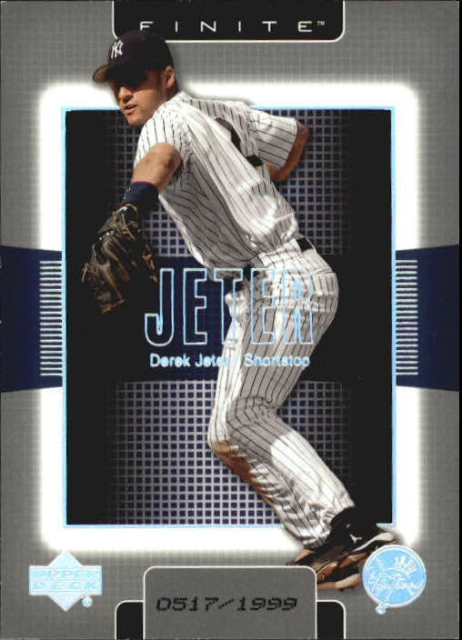 2003 Upper Deck Finite #70 Derek Jeter